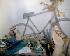 Mesh Metal Bicycles in Larnaca Cyprus - by Anika Mikkelson - Miss Maps - www.MissMaps.com