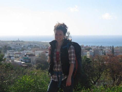 Paphos from above - Just a girl and her backpack wandering the world - - by Anika Mikkelson - Miss Maps - www.MissMaps.com