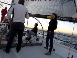 Sailing on the Mediterranean off the Coast of Limassol Cyprus - Anika Mikkelson - Miss Maps - www.MissMaps.com