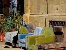 Take a seat in Nicosia, Cyprus - by Anika Mikkelson - Miss Maps - www.MissMaps.com