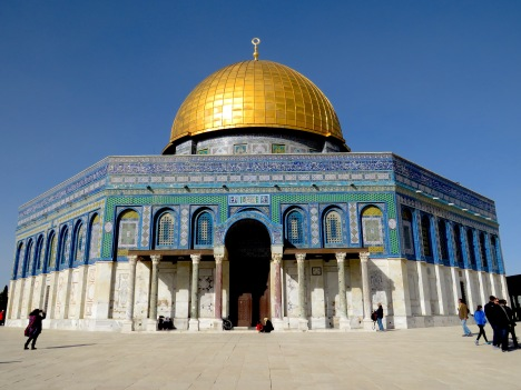 Temple Mount in Jerusalem - by Anika Mikkelson - Miss Maps - www.MissMaps.com