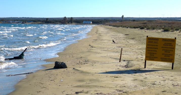 The British Military Base - Limassol Cyprus - by Anika Mikkelson - Miss Maps - www.MissMaps.com