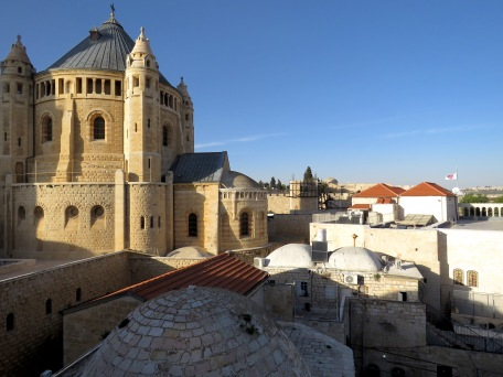 The Church of the Dormition on Mount Zion in Jerusalem - by Anika Mikkelson - Miss Maps - www.MissMaps.com