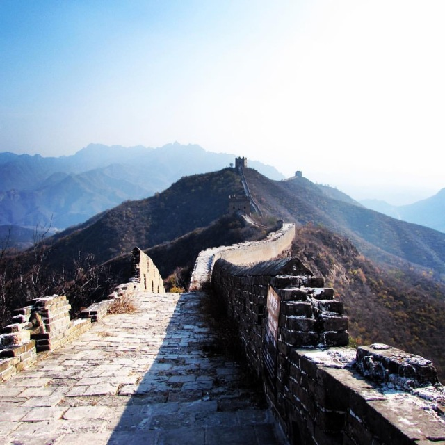 The Great Wall of China - by Mikayla Timothy - www.MissMaps.com