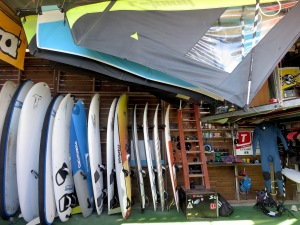 The surf shop at its best - Limassol Cyprus - by Anika Mikkelson - Miss Maps - www.MissMaps.com