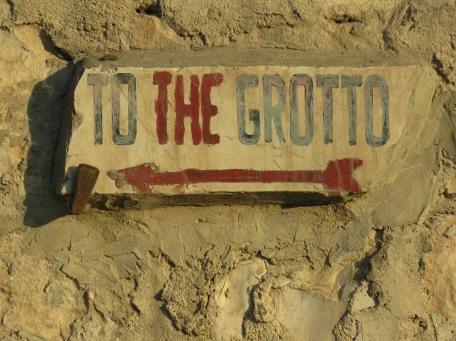 To the Grotto in Jerusalem - by Anika Mikkelson - Miss Maps - www.MissMaps.com