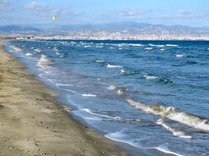 View of Limassol from Ladies Mile Beach - Limassol Cyprus - by Anika Mikkelson - Miss Maps - www.MissMaps.com