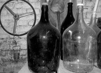 Antique Wine Jugs - by Anika Mikkelson - Miss Maps - www.MissMaps.com