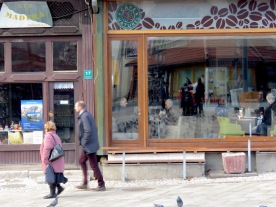 Cafe Naturel - Reflections of Culture in Sarajevo, Bosnia and Herzegovina BiH - by Anika Mikkelson - Miss Maps - www.MissMaps.com