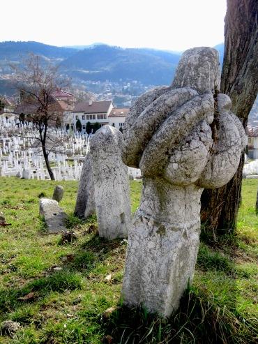 Cemeteries of Sarajevo - Sarajevo, Bosnia and Herzegovina BiH - by Anika Mikkelson - Miss Maps - www.MissMaps.com