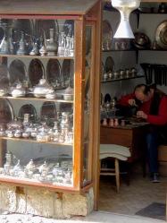 Coppersmith - Sarajevo, Bosnia and Herzegovina BiH - by Anika Mikkelson - Miss Maps - www.MissMaps.com