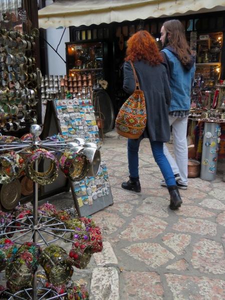 Coppersmiths, Copper Bags and Copper Hair - Sarajevo, Bosnia and Herzegovina - BiH - by Anika Mikkelson - Miss Maps - www.MissMaps.com