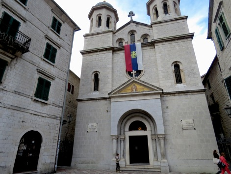 Happened upon Saint Nicolas Church during a lovely mass - Kotor Montenegro - by Anika Mikkelson - Miss Maps - www.MissMaps.com