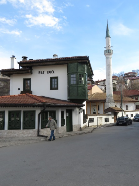 Inat Kuca - The Spite House of Sarajevo, Bosnia and Herzegovina BiH - by Anika Mikkelson - Miss Maps - www.MissMaps.com