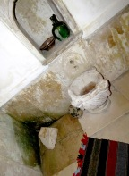 Inside the hammam at the Devish Tekke of Blagaj, near Mostar in Bosnia and Hercegovina - by Anika Mikkelson - Miss Maps - www.MissMaps.com