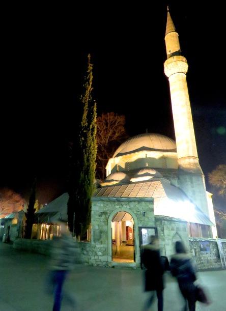 Karagözbey Mosque - Mostar, Bosnia and Herzegovina - by Anika Mikkelson - Miss Maps - www.MissMaps.com