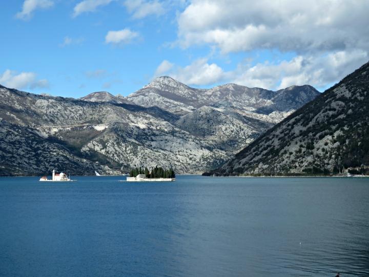 Kotor Bay Churches - Perast Montenegro - by Anika Mikkelson - Miss Maps - www.MissMaps.com