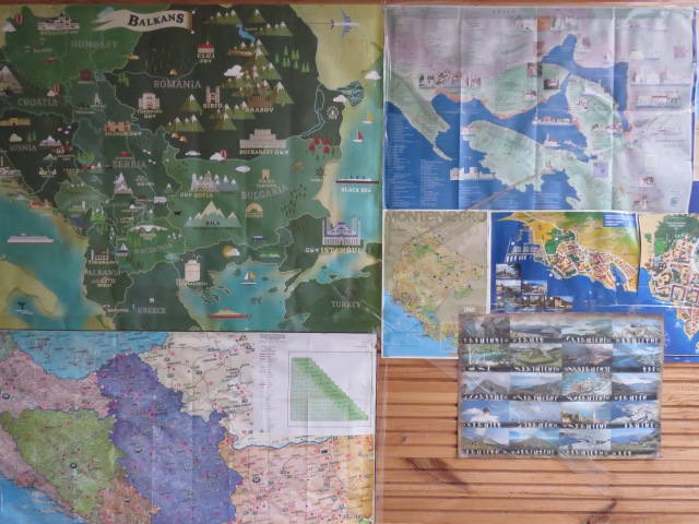 Mapping Out the Balkans - by Anika Mikkelson - Miss Maps - www.MissMaps.com
