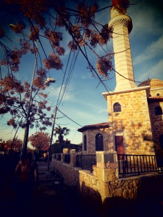 Mosque on the outskirts of Shkoder Albania - by Anika Mikkelson - Miss Maps - www.MissMaps.com