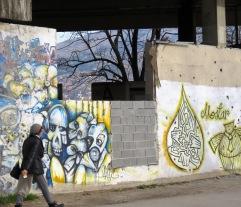 Mostar Graffitti - Mostar, Bosnia and Herzegovina - by Anika Mikkelson - Miss Maps - www.MissMaps.com