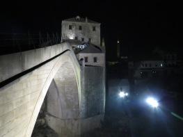 Mostar's Stari Most at Night - Mostar, Bosnia and Herzegovina - by Anika Mikkelson - Miss Maps - www.MissMaps.com