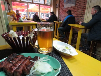 My favorite restaurant in Tirana Albania - by Anika Mikkelson - Miss Maps - www.MissMaps.com