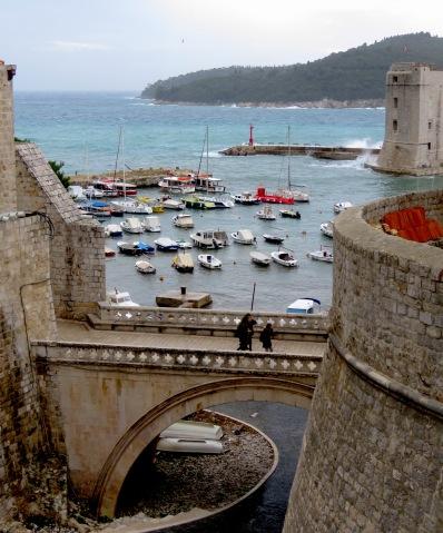 Port of Old Town Dubrovnik, Croatia - by Anika Mikkelson - Miss Maps - www.MissMaps.com