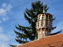 Religious Rooftops - Saravejo, Bosnia and Herzegovina BiH - by Anika Mikkelson - Miss Maps - www.MissMaps.com