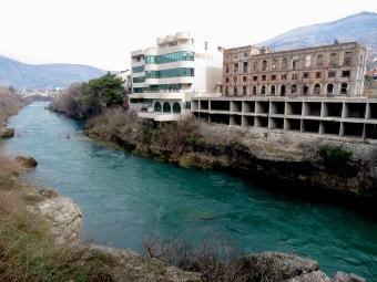 Rivers and Ruins - Mostar, Bosnia and Herzegovina - by Anika Mikkelson - Miss Maps - www.MissMaps.com