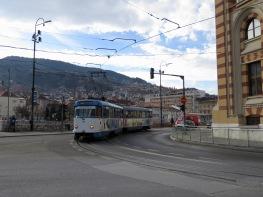 Running Since 1885, Sarajevo has one of Europe's Oldest Tram Lines - Bosnia and Herzegovina BiH - by Anika Mikkelson - Miss Maps - www.MissMaps.com