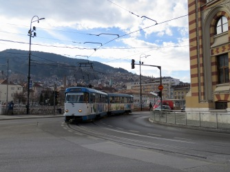 Running Since 1885, Sarajevo has one of Europe's Oldest Tram Lines - Bosnia and Herzegovina BiH - by Anika Mikkelson - Miss Maps - www.MissMaps.com