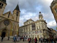 Sacred Heart Cathedral - Sarajevo, Bosnia and Herzegovina - BiH - by Anika Mikkelson - Miss Maps - www.MissMaps.com