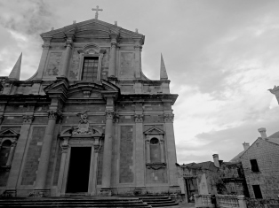 Saint Ignatius Church - a hot spot for Game of Thrones fans in Old Town Dubrovnik Croatia - by Anika Mikkelson - Miss Maps - www.MissMaps.com