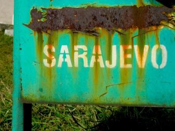 Sarajevo - Saravejo, Bosnia and Herzegovina BiH - by Anika Mikkelson - Miss Maps - www.MissMaps.com