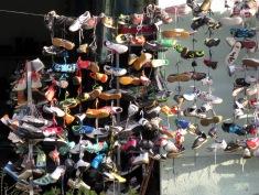Shoes for Sale - Shkoder Albania - by Anika Mikkelson - Miss Maps - www.MissMaps.com
