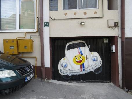 Slug Bug at Hostel Lucky - Sarajevo, Bosnia and Herzegovina BiH - by Anika Mikkelson - Miss Maps - www.MissMaps.com