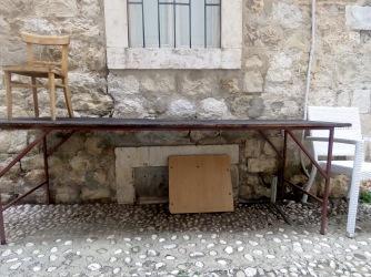 Stadium Seating- Old Town Dubrovnik Croatia - by Anika Mikkelson - Miss Maps - www.MissMaps.com