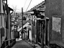 Streets of Sarajevo - Saravejo, Bosnia and Herzegovina BiH - by Anika Mikkelson - Miss Maps - www.MissMaps.com