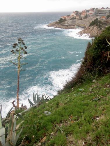 The Adriatic Sea and Coast of Dubrovnik - by Anika Mikkelson - Miss Maps - www.MissMaps.com