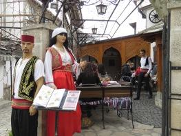 Traditional Bosnian Restaurant and Dress - Mostar, Bosnia and Herzegovina - by Anika Mikkelson - Miss Maps - www.MissMaps.com 2
