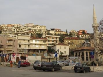 Ulcinj Montenegro at Dusk - by Anika Mikkelson - Miss Maps - www.MissMaps.com