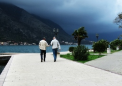 Walk and talk on the bay of Kotor Montenegro - by Anika Mikkelson - Miss Maps - www.MissMaps.com