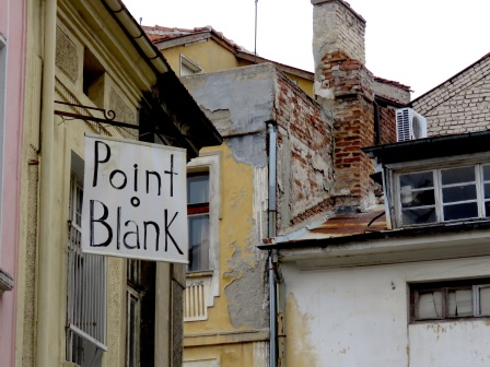 Point Blank - Plovdiv, Bulgaria - by Anika Mikkelson - Miss Maps