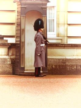 Buckingham Palace Guard - London, England, United Kingdom - by Anika Mikkelson - Miss Maps