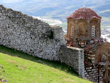 Byzantine Orthodox Church - Berat Albania - by Anika Mikkelson - Miss Maps - www.MissMaps.com