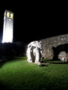 Elbasan Castle at Night - Elbasan Albania - by Anika Mikkelson - Miss Maps - www.MissMaps.comElbasan Castle at Night - Elbasan Albania - by Anika Mikkelson - Miss Maps - www.MissMaps.com