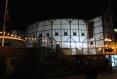 Globe Theater at Night - Twas Quite Dark - London, England, United Kingdom - by Anika Mikkelson - Miss Maps