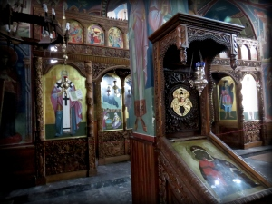 Inside Kalishta Monastery - Struga Macedonia - by Anika Mikkelson - Miss Maps - www.MissMaps.com