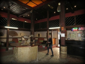 Inside the Turkish Baths turned Cafe - Elbasan Albania - by Anika Mikkelson - Miss Maps - www.MissMaps.com