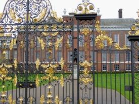 Kensington Palace's Gates and Guard - London, England, United Kingdom - by Anika Mikkelson - Miss Maps